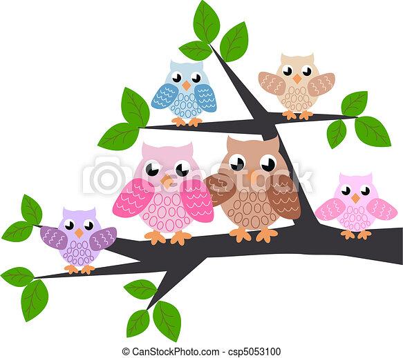 owl family - csp5053100