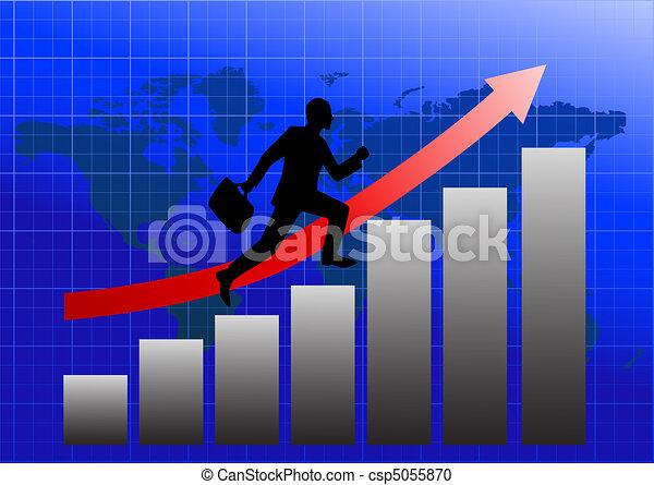 Success in business - csp5055870