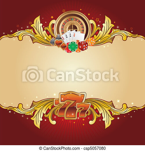 casino background - csp5057080