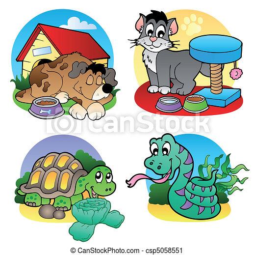 Various pets images 2 - csp5058551
