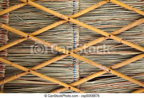 image de escrime bambou panneau sec herbe feuille jaune peu csp5058876 recherchez. Black Bedroom Furniture Sets. Home Design Ideas