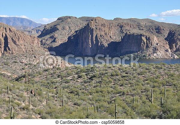 apache, lago - csp5059858