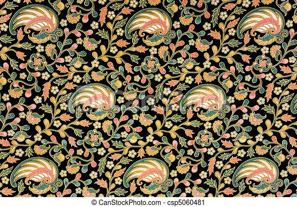 Indonesian Batik Sarong - csp5060481