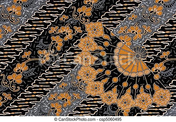 Indonesian Batik Sarong - csp5060495