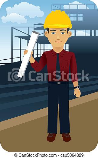 Architect, Engineer - csp5064329