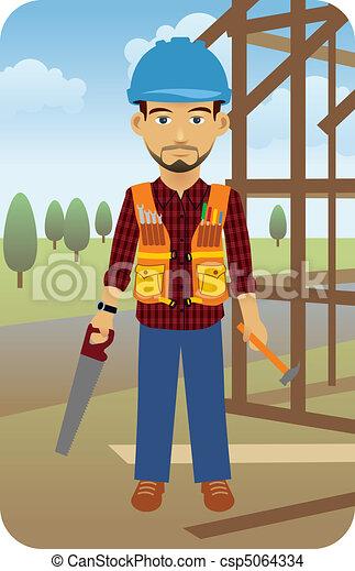 Construction Worker - csp5064334