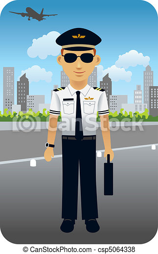 Aviator, Pilot - csp5064338