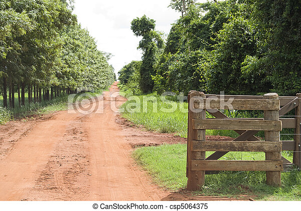 Rural Gate - csp5064375