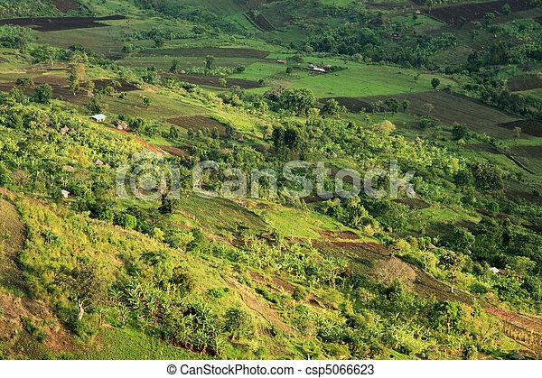 Rural Landscape - Uganda, Africa - csp5066623