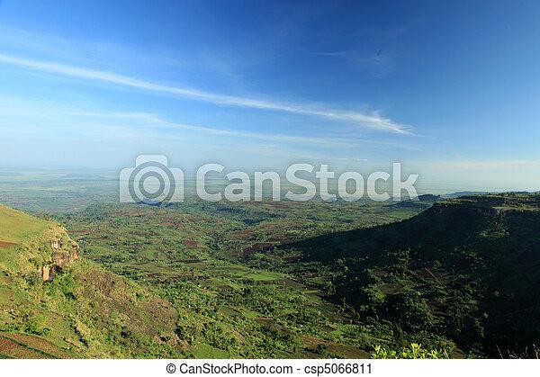 Rural Landscape - Uganda, Africa - csp5066811