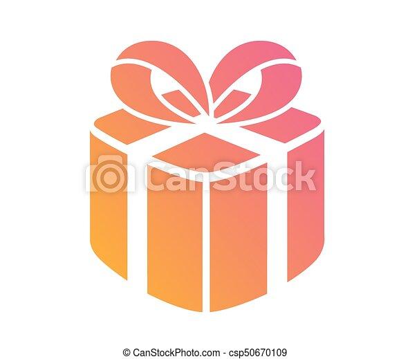 gouden, bijbel, heilig, kleurrijke, helling, vrijstaand, boek, schitteren, pictogram - csp50670109