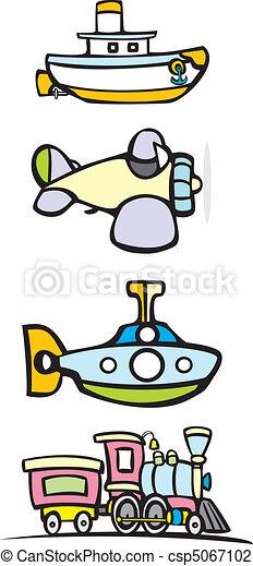 Toy Transportation - csp5067102