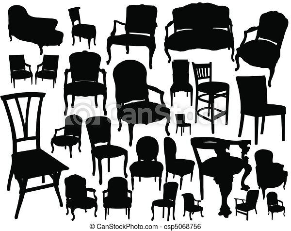 Chairs collection - csp5068756