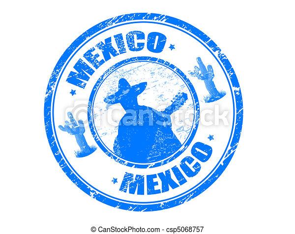 Mexico stamp - csp5068757
