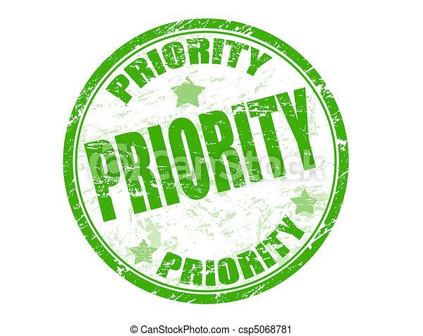 priority stamp - csp5068781