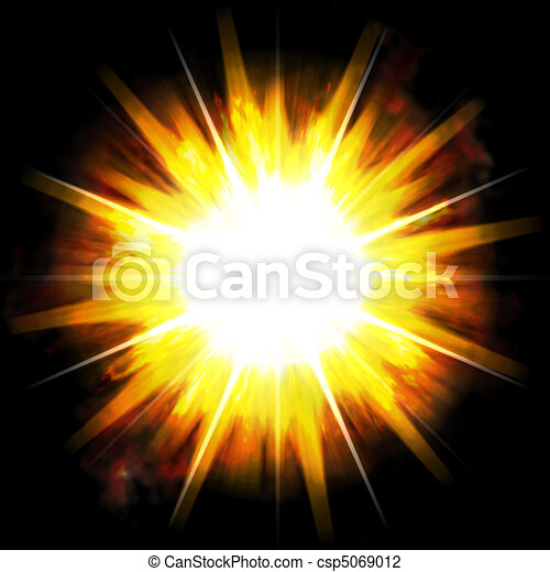 Fiery Blast - csp5069012