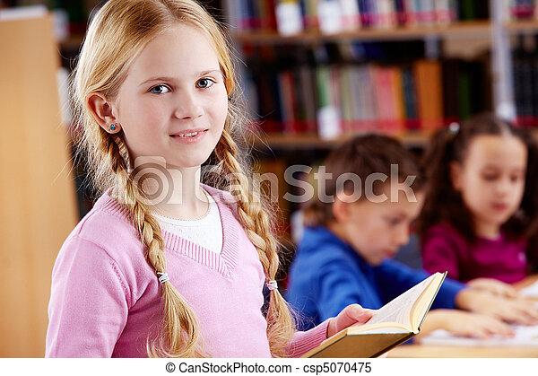 Youthful reader - csp5070475
