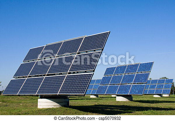 Solar energy plants - csp5070932