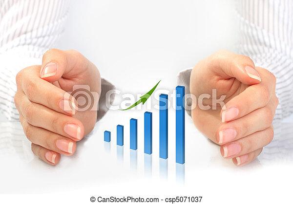 Success in business. - csp5071037