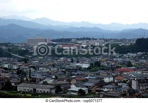 Iida, nagano, Japão - csp5071377