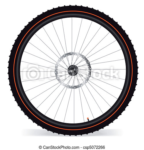 Bike wheel - csp5072266