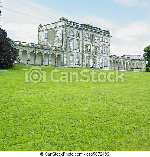 Stock Photos Of Florence Court County Fermanagh Northern