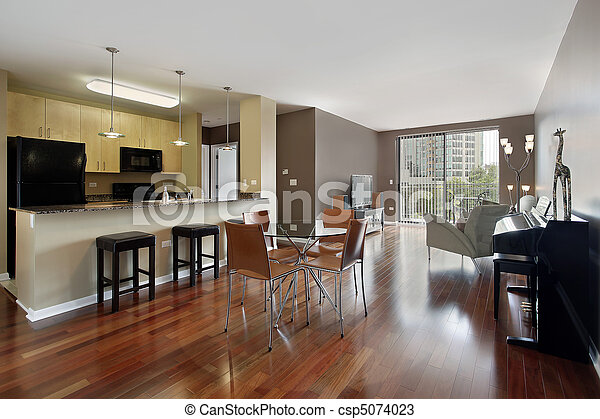 Condo with open floor plan - csp5074023