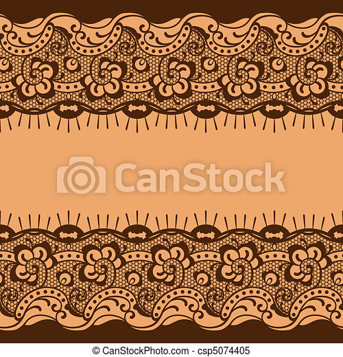 lace background - csp5074405