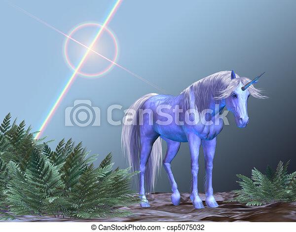 Unicorn Resting - csp5075032