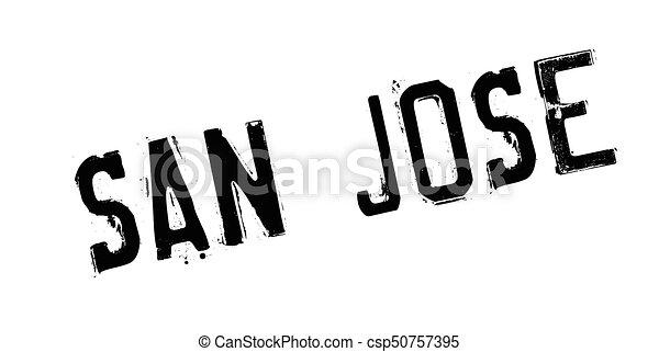 San Jose rubber stamp - csp50757395