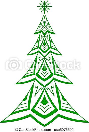 vektor illustration von tannenbaum weihnachten. Black Bedroom Furniture Sets. Home Design Ideas