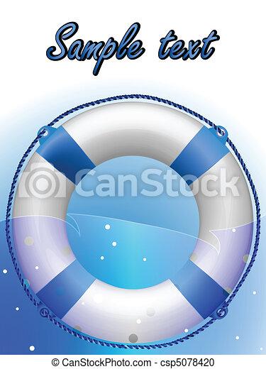 life saver - csp5078420