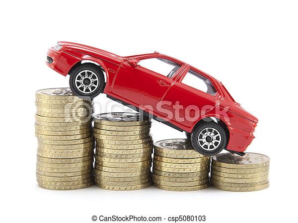 Saving money for a car - csp5080103