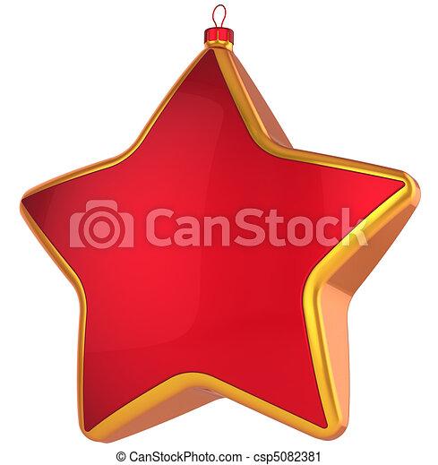 Christmas star (Hi-Res) - csp5082381