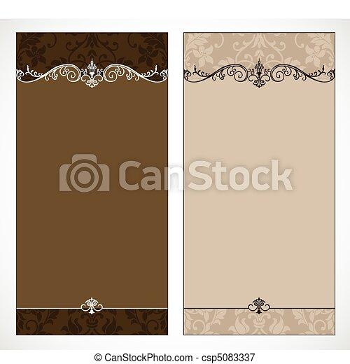 vector vector dual brown frame set