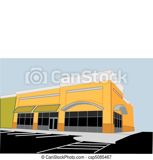 corner retail store - csp5085467