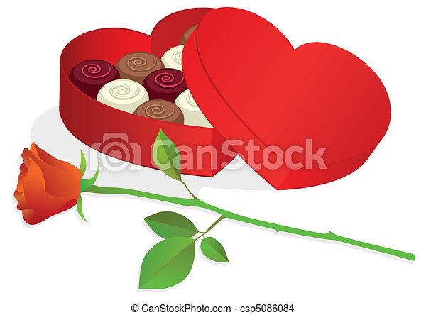 Heart Shaped Box Drawing Heart Shaped Box With