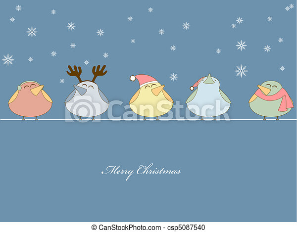Christmas song - csp5087540