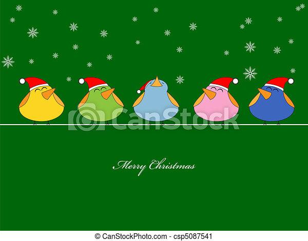 Christmas song - csp5087541