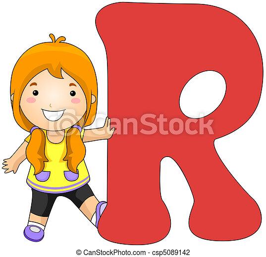 Kiddie Alphabet - csp5089142