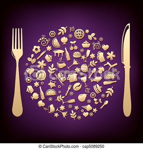 Restaurant Design 2 - csp5089250