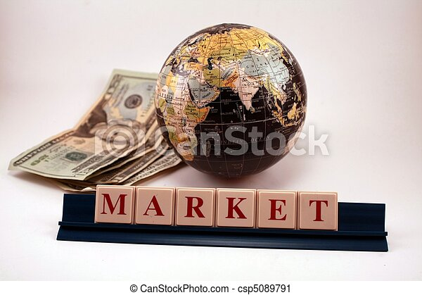 World Market Business Economy Globe - csp5089791