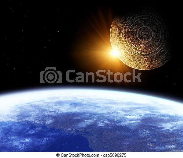Maya prophecy  - csp5090275