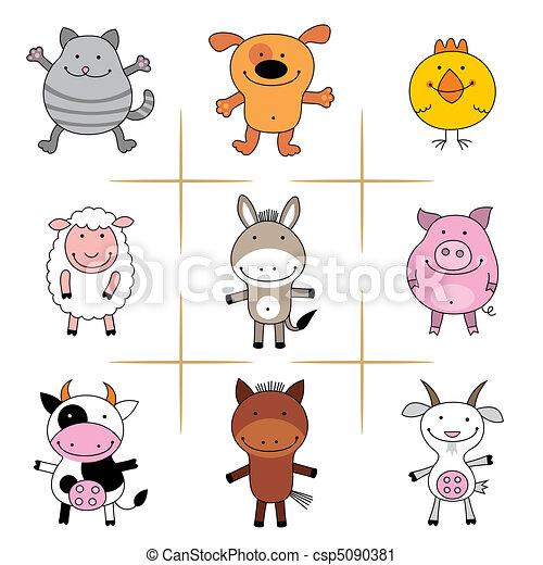 farm animals - csp5090381