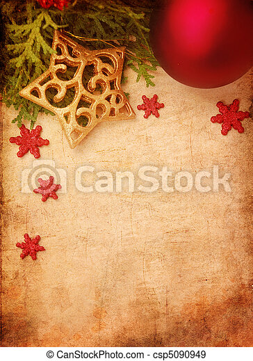 navidad, plano de fondo - csp5090949