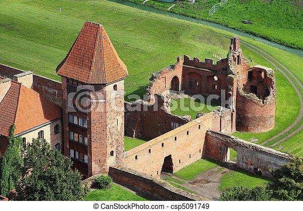 malbork, château - csp5091749