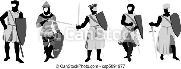5 Knights - csp5091977