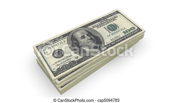 Dollar Banknotes  - csp5094783