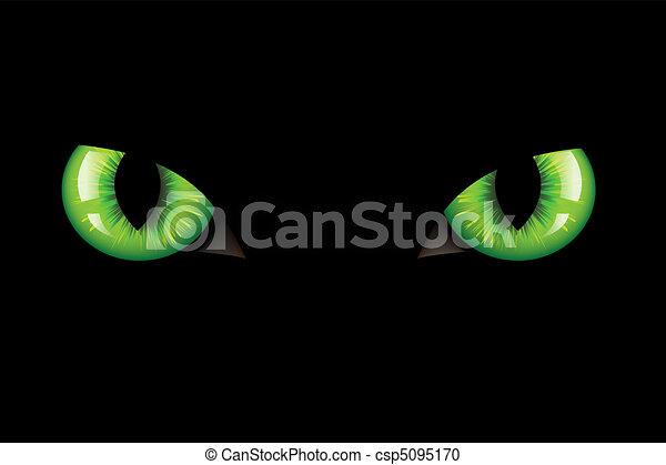 Cats Eyes - csp5095170