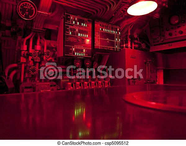 Submarine Command Center - csp5095512